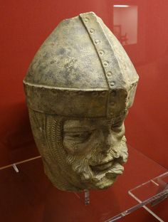 ca. 1230-1240 - 'head of a knight, probably St. Maurice', copy, Bamberg, Historisches Museum, Bamberg, Bayern, Germany