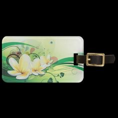 Travel in style with Floral luggage tags from Zazzle! Make your tags today! Custom Luggage Tags, Standard Business Card Size, Leather Luggage, Floral Fashion, Travel Luggage, Printing Process, Vibrant, Prints, Cards