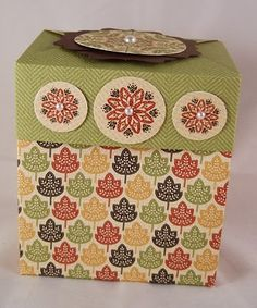 Kitty Stamp: Fancy Favor Box Lid Tutorial