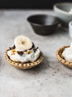 banoffee pie bites, (vegan/gluten-free/no refined sugar).