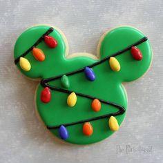 galletas pinterest christmas cookies mickey mouse cookies and mickey mouse - Mickey Mouse Christmas Cookies