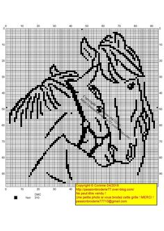 - My little crosses and me! – My little crosses and me! – My little crosses a Cross Stitch Horse, Cross Stitch Animals, Counted Cross Stitch Patterns, Cross Stitch Charts, Cross Stitch Designs, Blackwork Embroidery, Cross Stitch Embroidery, Filet Crochet, Crochet Horse