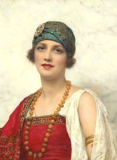 Painting by William Clarke Wontner