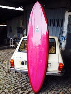 My New 7'7 Pin Tail Single Fin :D