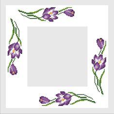 Gallery.ru / Фото #37 - *** - arine2208 Cross Stitch Borders, Cross Stitch Flowers, Cross Stitch Charts, Cross Stitching, Cross Stitch Patterns, Hand Embroidery Art, Cross Stitch Embroidery, Beaded Cross, Brazilian Embroidery