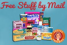 Every day we update with the best free samples by mail, sweepstakes, giveaways and coupons from around the web. No scams, no surveys. JUST FREE STUFF! Free Samples By Mail, Free Stuff By Mail, Get Free Stuff, Free Baby Stuff, Free Mail, Extreme Couponing, Couponing 101, Freebies By Mail, Free Coupons