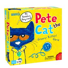PETE THE CAT GROOVY BUTTONS GAME