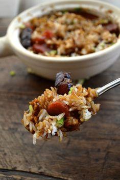 Hong Kong Style Rice Bowl, The-Woks-of-Life #Claypot  #ricebowl