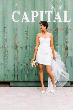 Still in love with my short weddingdress ☺️