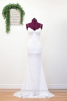 Lace Boho Wedding Dress Boho Wedding Gown Romantic Bohemian