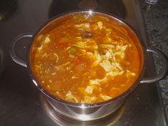 Peking Suppe - Süß Sauer Suppe 17