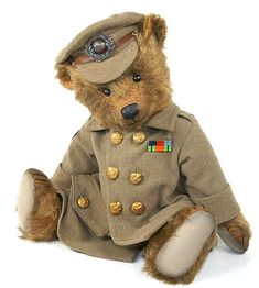 I chose a similar object to this bear to represent Grace's granddaughter - Daisy. Grace has had a big input in Daisy's life and gave her this bear at a young age. Daisy is a teenager and a fighter. I think bears represent childhood but soldiers represent war and adulthood. Daisy is still a young girl but she has to remain strong for her gran.