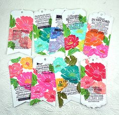 Bible Study Bookmarks by Dawn McVey for Papertrey Ink (July 2015)