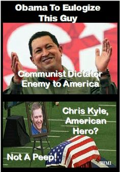 Just when you think he can't get any lower. . .can't wait to hear what O says about his dictator buddy