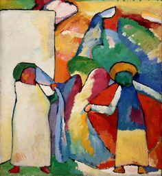 Improvisation 6, Afrikanisches 1909 Wassily Kandinsky
