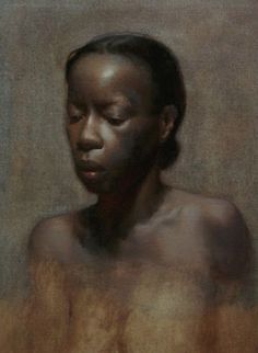 African women nude oil paintings photo 533