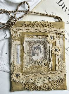 More Mixed Media art by Viola. I love that she uses my images on some of her gorgeous pieces!!