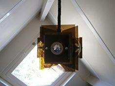 Raak hanglamp. Plexiglas 1976. Design.