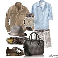 Change the shoes, hat, n drop the added shirt n bag n you got something