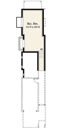 Super Skinny House Plan - 85151MS | Architectural Designs - House Plans Contemporary House Plans, Modern House Plans, Modern House Design, Building Plans, Building A House, Shotgun House Plans, Duplex Floor Plans, Narrow Lot House Plans, Garage Loft
