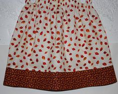 Fall Time Skirt      Size 2 to 8