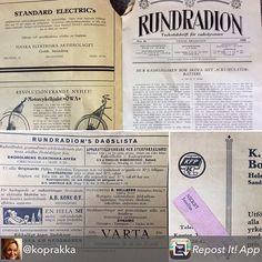 Vanhoista taloista voi löytyä vaikka mitä aarteita. Man kan hitta skatter i gamla byggnader.  Tämän löydön jakoi @koprakka  Radion ohjelmalehti nro 26 vuodelta 1929 löytyi välipohjasta muurin vierestä, osoitettu Juseliukselle 📰📻 #rundradion #yleisradio #östanbo #nickby #muistojennikkilä