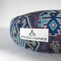 Sustainably and ethically handmade in Ireland by the Mindful Menace using deadstock upholstery fabrics and organic buckwheat hulls. These durable cushions are made to last. Free shipping Worldwide Meditation Cushion, Meditation Space, Boho Room, Sustainable Fabrics, Silk Pillow, Upholstery Fabrics, Buckwheat, Good Night Sleep, Decor Interior Design