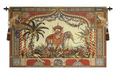 The Elephant European Wall Tapestry