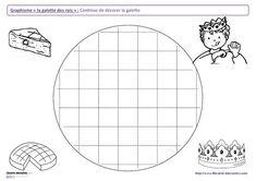 12 fiches de graphisme sur le thème de l'épiphanie, pour les élèves de maternelle (moyenne section et grande section). Plusieurs notions travaillées, telles que les lignes verticales, les ponts, les pics, les ronds et l'écriture de mots en capitale.