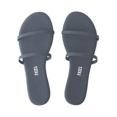 Looking for elevated, everyday vegan leather sandals & flip flops? Meet the Gemma Matte by TKEES. Striped Sandals, Cute Sandals, Flip Flop Sandals, Flip Flops, Flat Sandals, Shoes Sandals, Flats, Stylish Sunglasses, Fashion Sandals