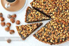 Tarta czekoladowo-orzechowa - Najsmaczniejsze.pl Cereal, Sweets, Breakfast, Harry Potter, Polish, Food, Kitchen, Pies, Morning Coffee