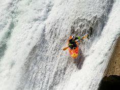 extreme whitewater kayaking