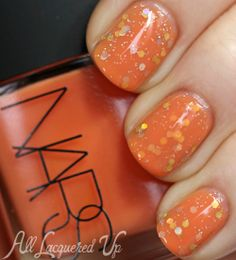 Jelly sandwich #nailart #nails with #NARS via @All Lacquered Up