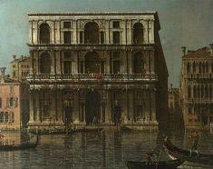 Venice: Palazzo Grimani by Canaletto 1756-68