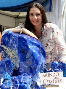 Daniela Kasparov - Pesquisadora,colecionadora de cristais,pedras preciosas e semi-preciosa e rochas.
