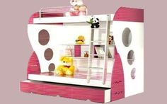 """Bunk Bed Model A03 Dimensions  Outer Dimensions (approx): 79""""x50""""x62"""" Upper Size: 75""""x30"""" Lower Size: 75""""x40"""" Colour Options:  Colours can be customized. Price  Rs. 46,800/- without pull-out drawer Rs. 51,200/- with pull-out drawer Rs. 56,700/- with Side step visit http://kidsfurnitureworld.in/bunk-beds.html"""