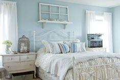 голубые стены в спальне - Поиск в Google
