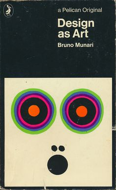Paperback edition of Design as Art, published by Pelican, United States, 1971, by Bruno Munari.