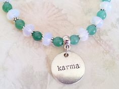 Hand Crafted Opalite and Aventurine Gemstone by CreationsByIsis