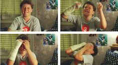 josh in little manhattan...look how cute he is even when he is crying :)