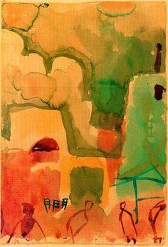Tunesische Sketch von Paul Klee (1879-1940, Switzerland)