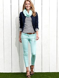 8 preppy casual spring outfits - women-outfits.com