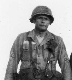 Army Command Sergeant Major Basil Plumley, year combat veteran of WWII, Korea, and Vietnam. He fought only with a Colt 1911 because he believed the had too much plastic and not enough. Military Photos, Military History, Military Men, Vietnam Veterans, Vietnam War, Korean War, American Soldiers, Panzer, Armed Forces