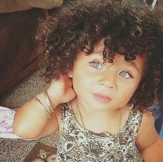 baby, curly hair, and kids image Cute Mixed Babies, Cute Black Babies, Beautiful Black Babies, Cute Baby Girl, Beautiful Children, Beautiful Eyes, Baby Love, Cute Babies, Baby Kind