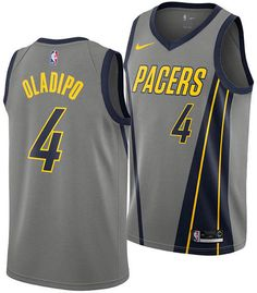 ac8323427ef Men s Victor Oladipo Indiana Pacers City Swingman Jersey 2018
