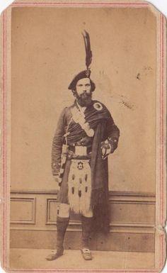Major Mclellan 79th New York Infantry - US Civil War