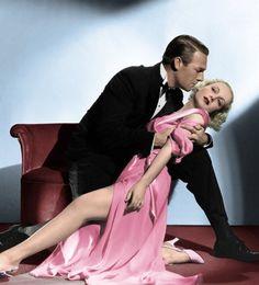 Carole Lombard and Randolph Scott in Supernatural (1933)