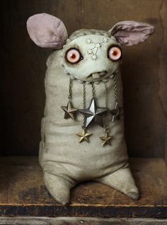 Unseen Forces - Winter Stargazer Scary Dolls, Ugly Dolls, Cute Dolls, Monster Dolls, Monster Art, Softies, Plushies, Elfa, Weird Gifts