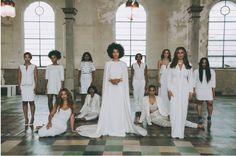 Solange looks so beautiful on her wedding day (and in my hometown)!!