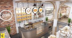 Bakery Interior, Restaurant Interior Design, Commercial Interior Design, Modern Interior, Bakery Shop Design, Shoe Store Design, Cafe Design, Bar Counter Design, Retail Design